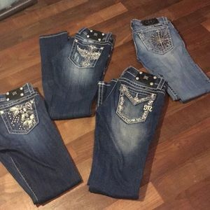 Lot miss me skinny jeans nice! Bootcut & skinny